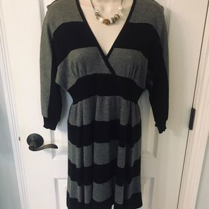 Express Black and Grey Sweater Dress! ❤️